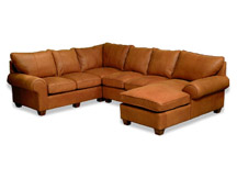 McKinley Leather Sectionals